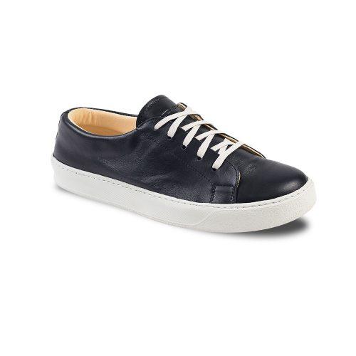 Chaussures en cuir basses noir Atelier PM