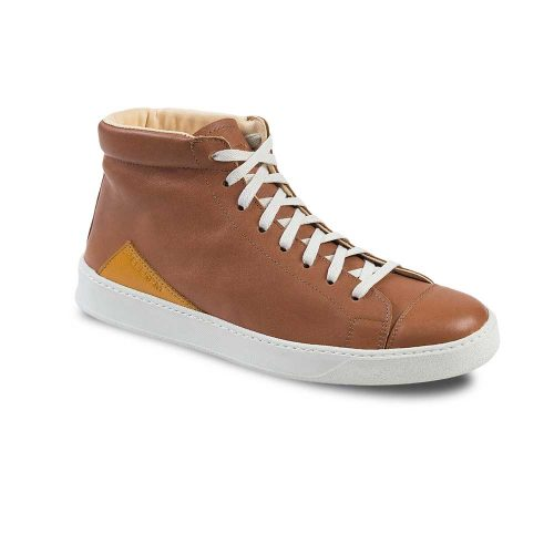 Chaussures en cuir haut de gamme montantes marron Atelier PM