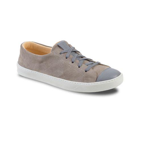 Chaussures en cuir basses fabrication française gris Atelier PM