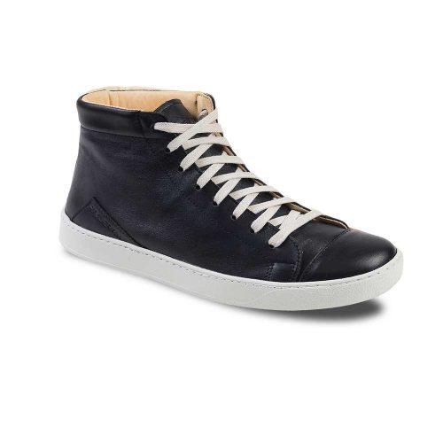 Chaussures en cuir haut de gamme montantes noir Atelier PM