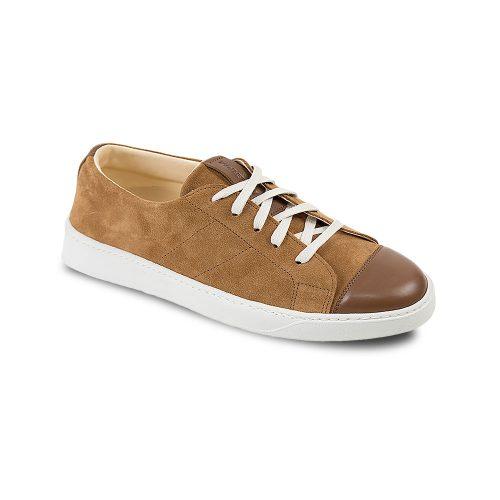 Chaussures en cuir basses marron Atelier PM