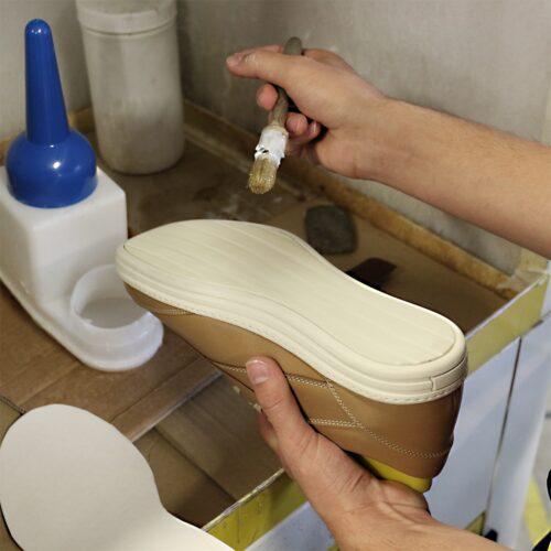 Réparation semelle chaussures cuir haut de gamme Atelier PM