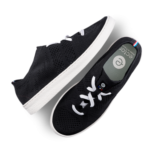 ector sneaker noire semelle blanche-0