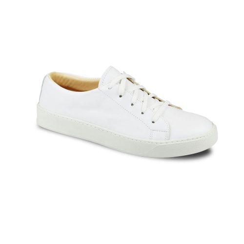 Chaussures en cuir basses blanc Atelier PM