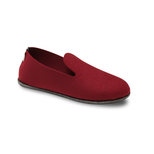 Chaussons écologiques rouge Soft'in
