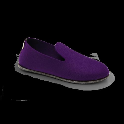 Chaussons écologiques violet Soft'in