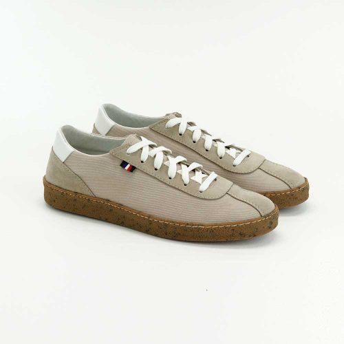 Chaussures en toile écoresponsables beige Atelier PM